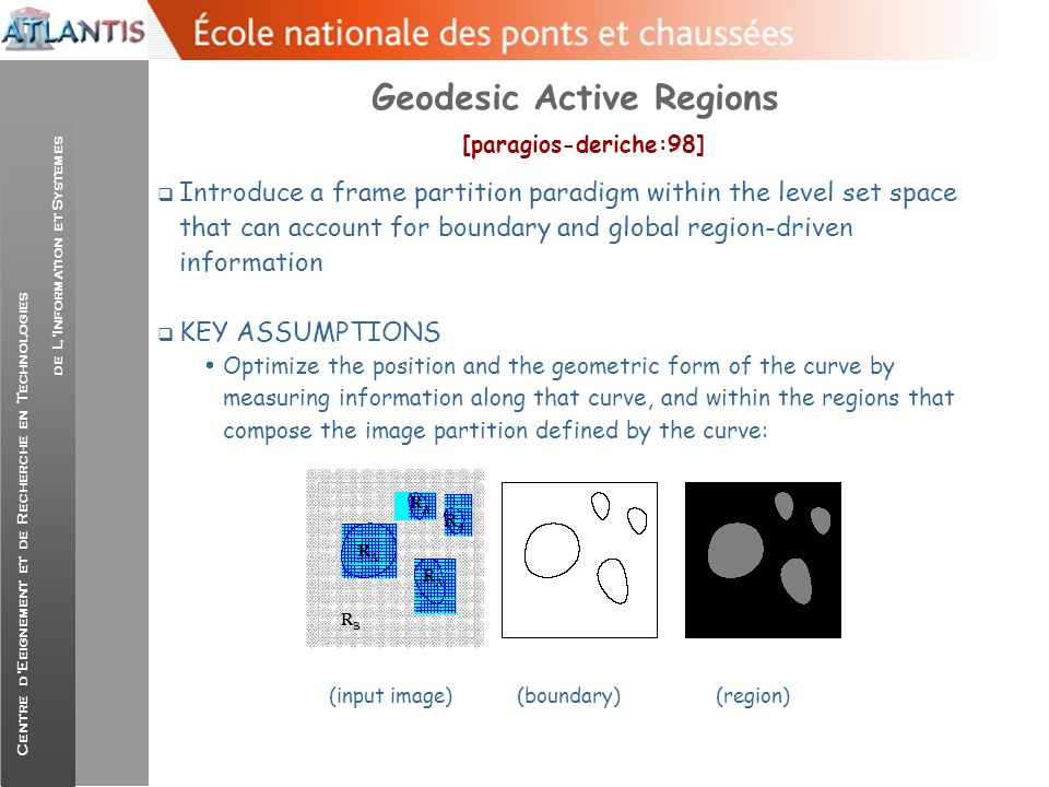 Geodesic Active Regions [paragios-deriche:98]